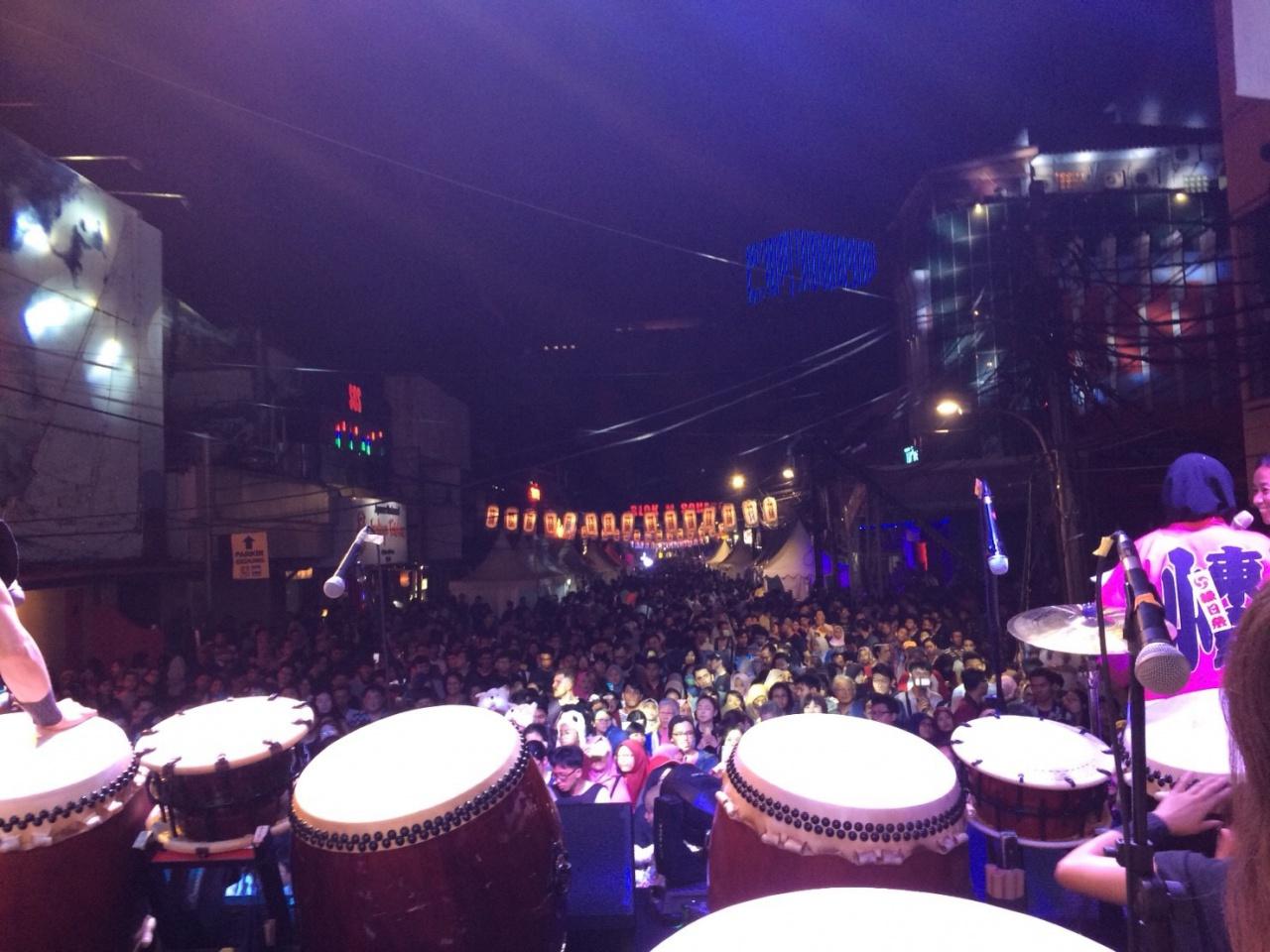 インドネシアで開催される『ジャカルタ縁日祭』に和太鼓アマチュア ...